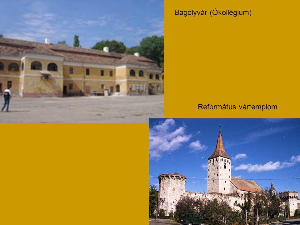 Református vártemplom Bagolyvár (Ókollégium)