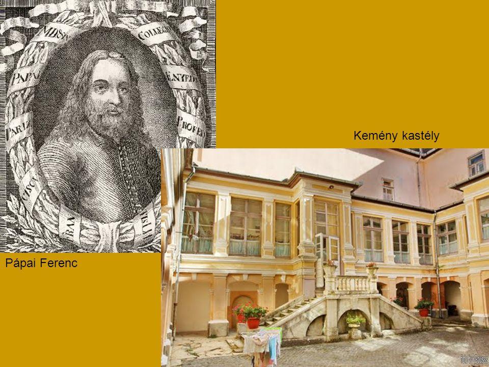Pápai Ferenc Kemény kastély