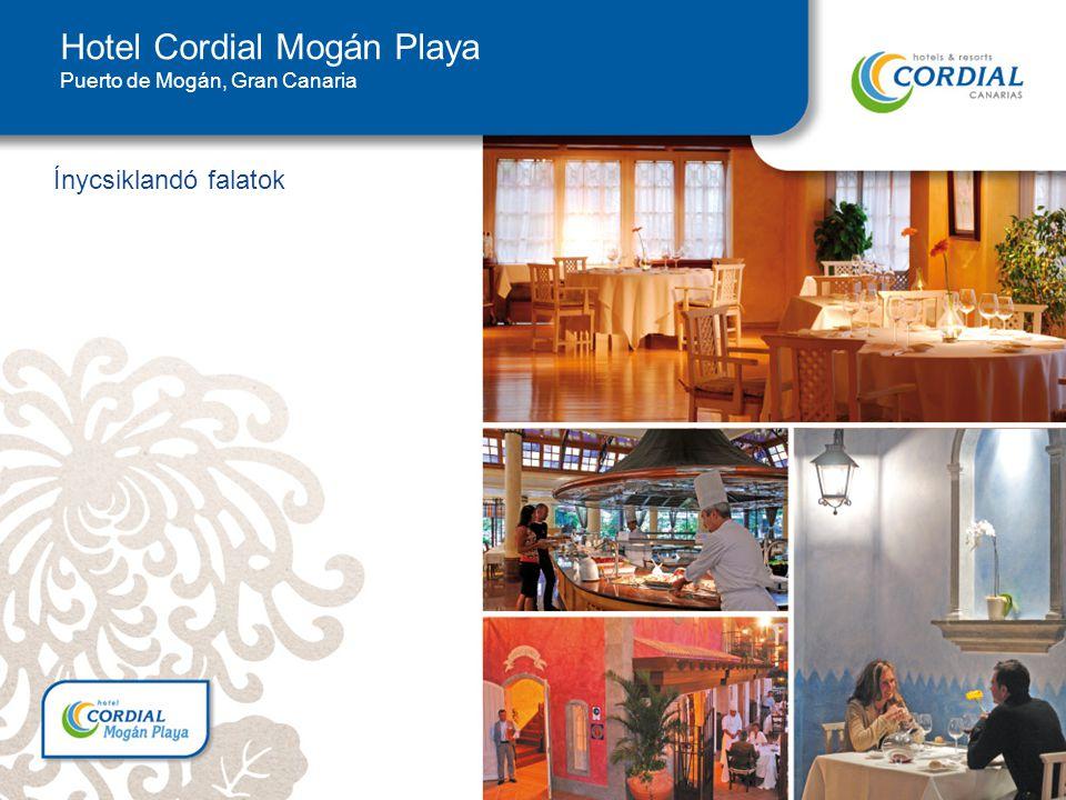 Ínycsiklandó falatok Hotel Cordial Mogán Playa Puerto de Mogán, Gran Canaria