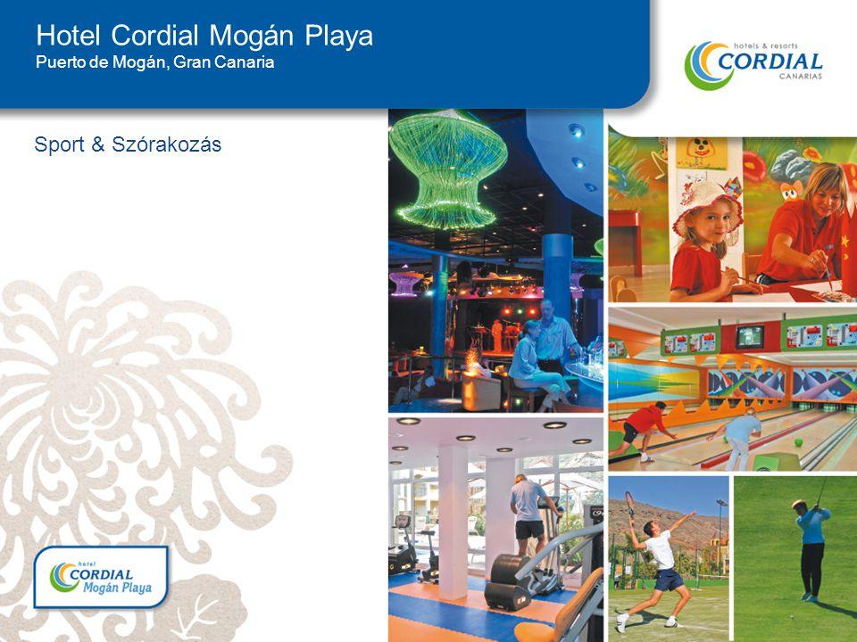 Sport & Szórakozás Hotel Cordial Mogán Playa Puerto de Mogán, Gran Canaria