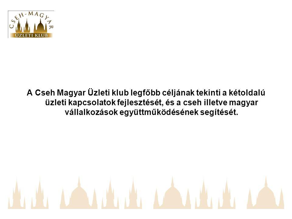 A Cseh Magyar Üzleti klub legfőbb céljának tekinti a kétoldalú üzleti kapcsolatok fejlesztését, és a cseh illetve magyar vállalkozások együttműködésének segítését.