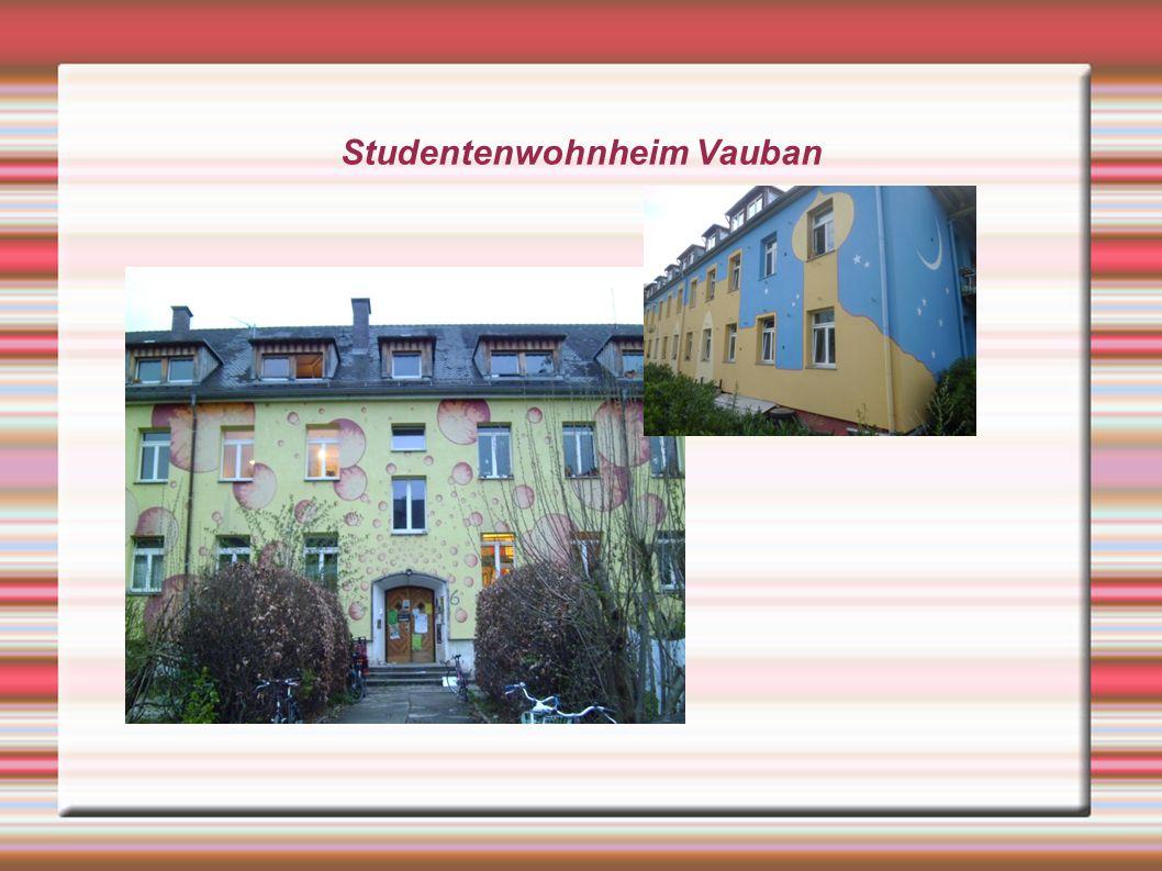 Studentenwohnheim Vauban