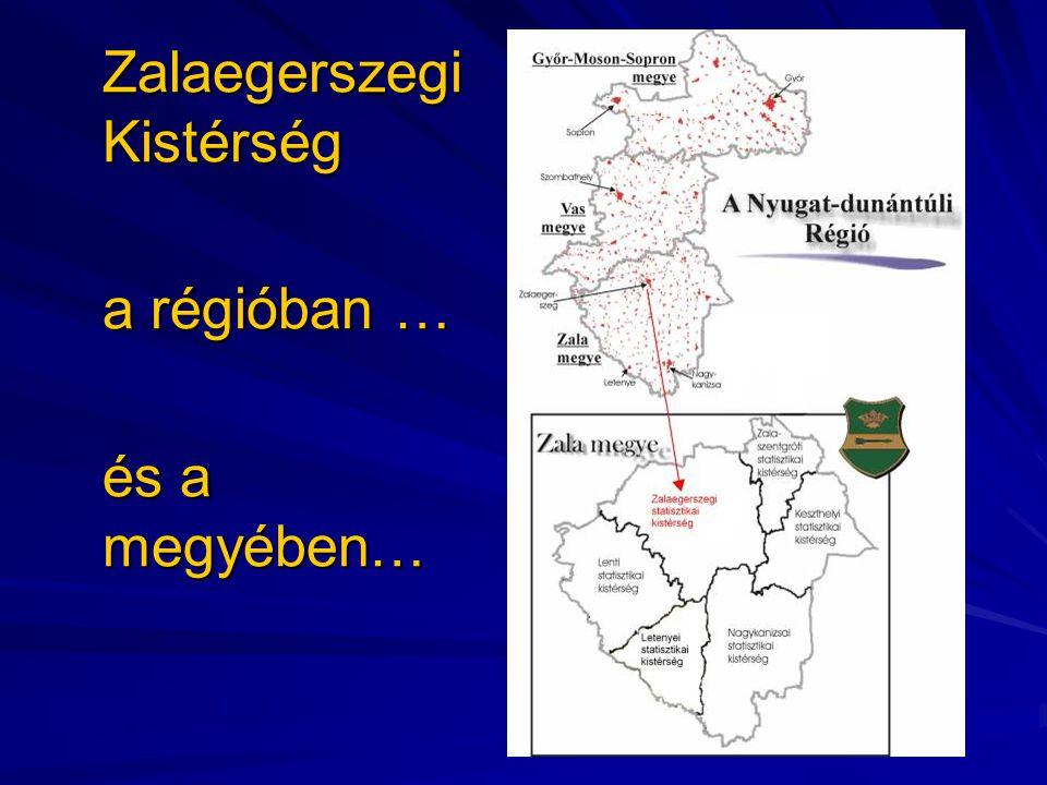 Zalaegerszegi Kistérség a régióban … és a megyében…