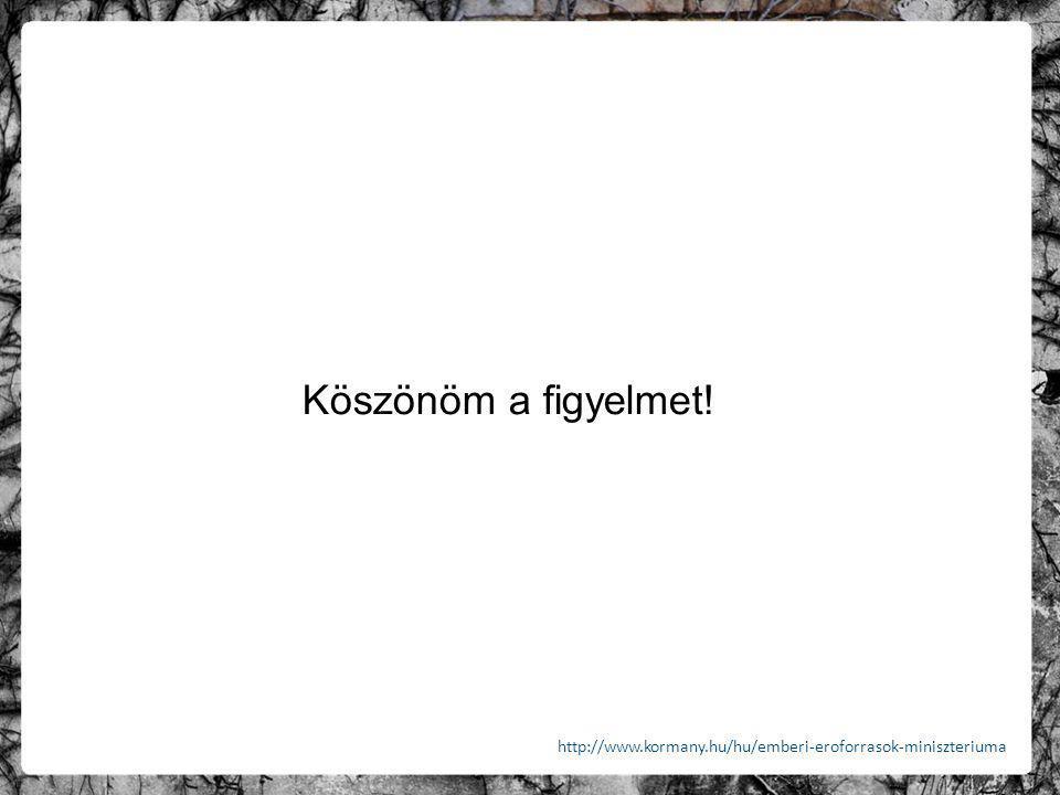 Köszönöm a figyelmet! http://www.kormany.hu/hu/emberi-eroforrasok-miniszteriuma