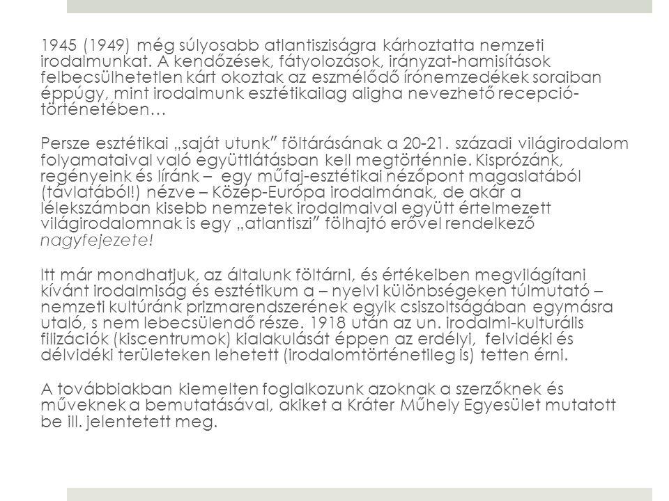 Tamás Mihály Két part között fut a víz című munkája az 1918-1921 terjedő időszak Beregszászénak regénye.
