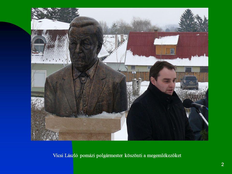 2 Vicsi László pomázi polgármester köszönti a megemlékezőket