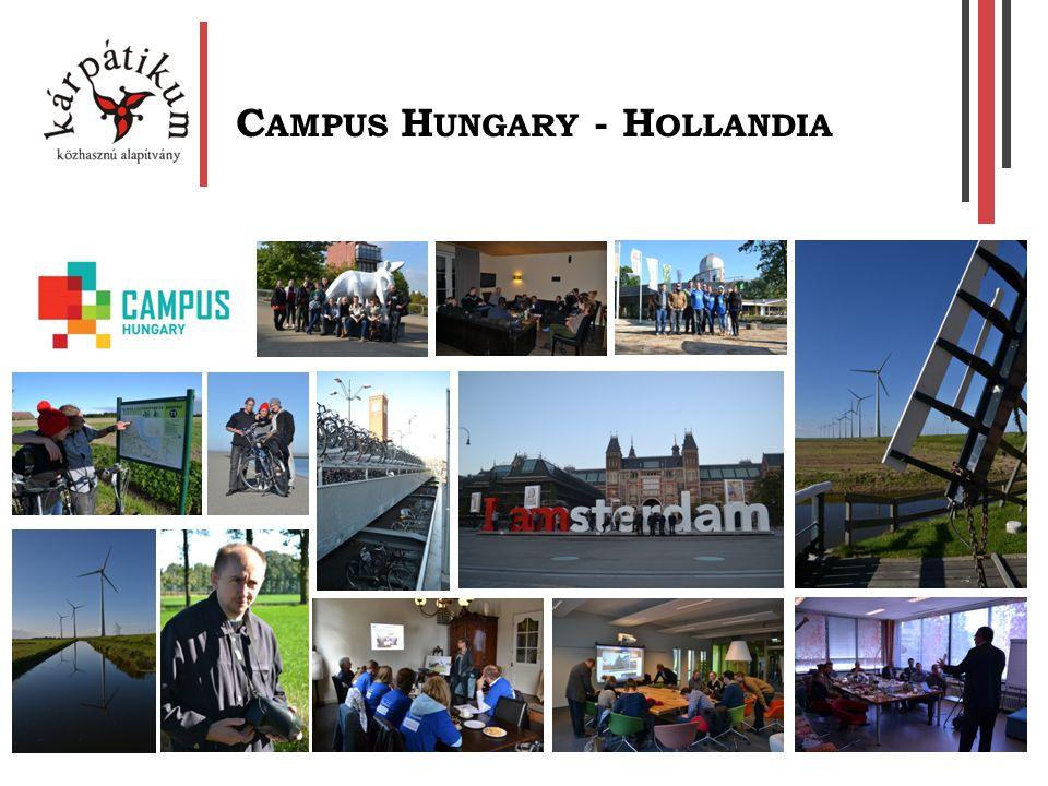 C AMPUS H UNGARY - H OLLANDIA