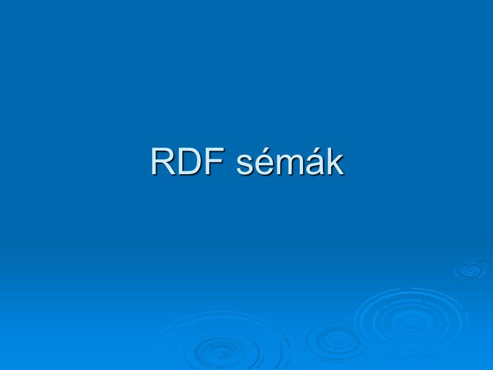 RDF sémák