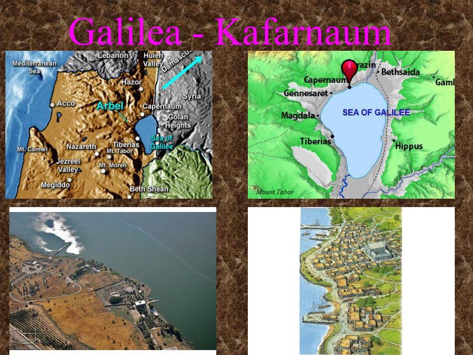 Galilea - Kafarnaum