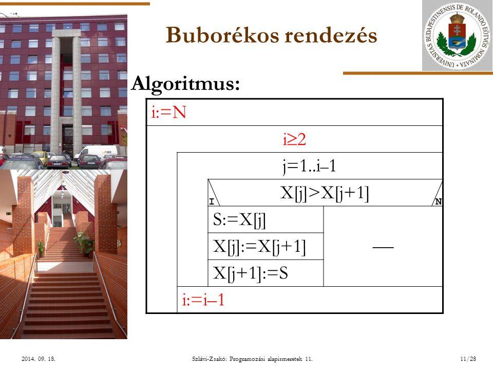 ELTE Szlávi-Zsakó: Programozási alapismeretek 11.11/282014.