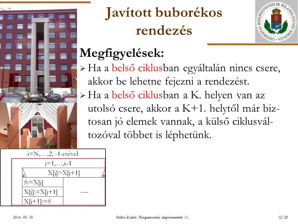 ELTE Szlávi-Zsakó: Programozási alapismeretek 11.12/282014.