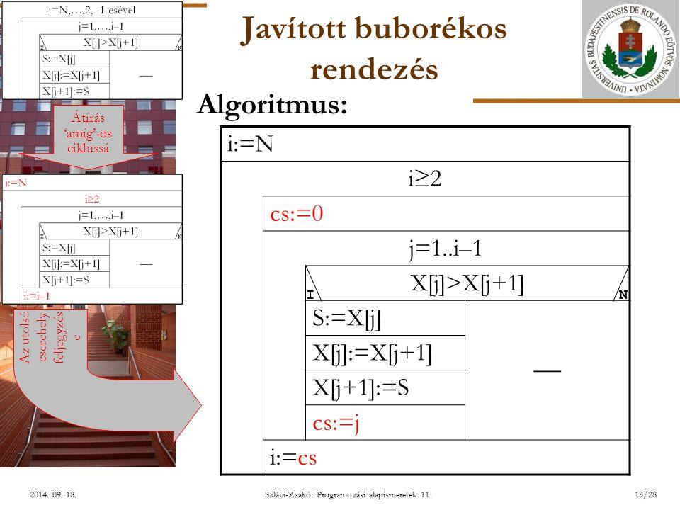 ELTE Szlávi-Zsakó: Programozási alapismeretek 11.13/282014.