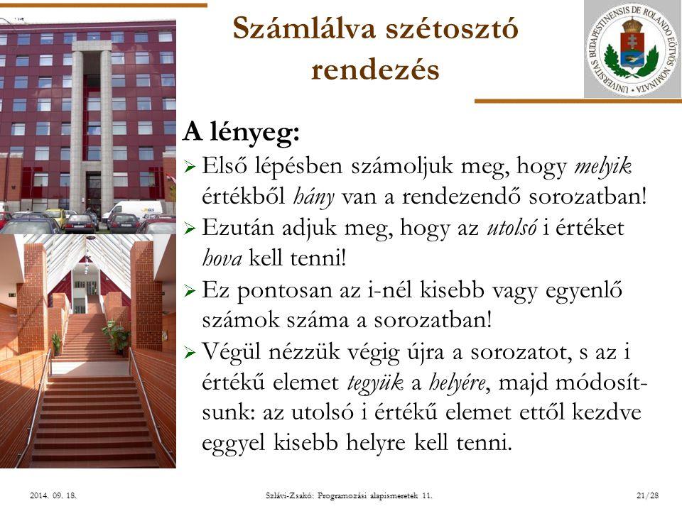ELTE Szlávi-Zsakó: Programozási alapismeretek 11.21/282014.