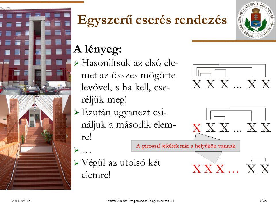 ELTE Szlávi-Zsakó: Programozási alapismeretek 11.5/282014.