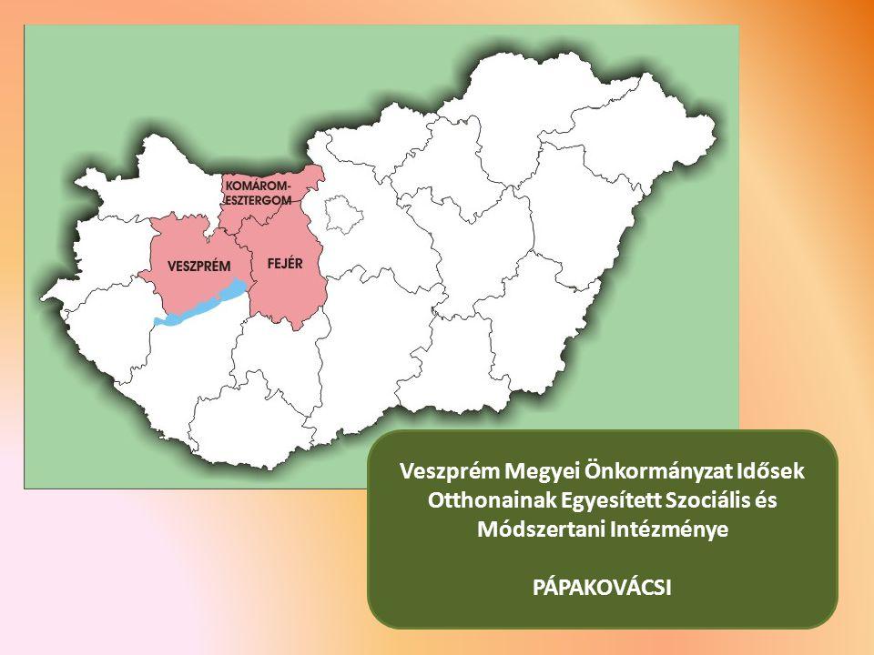 Veszprém Megyei Önkormányzat Idősek Otthonainak Egyesített Szociális és Módszertani Intézménye PÁPAKOVÁCSI