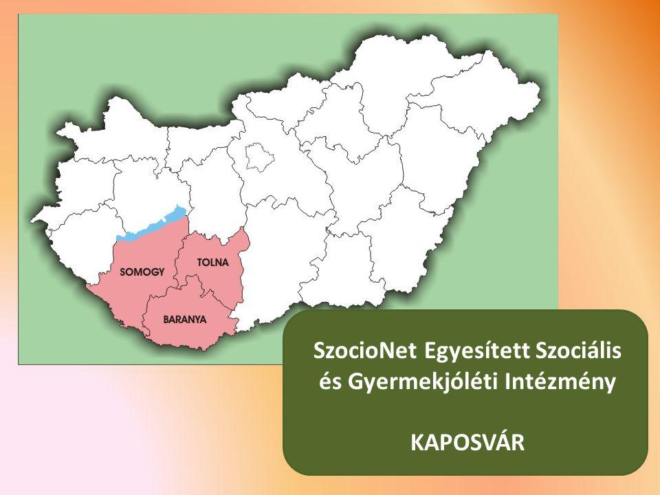 SzocioNet Egyesített Szociális és Gyermekjóléti Intézmény KAPOSVÁR