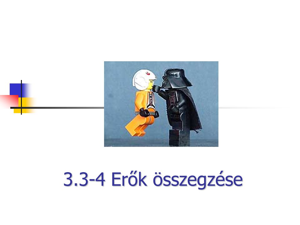3.3-4 Erők összegzése