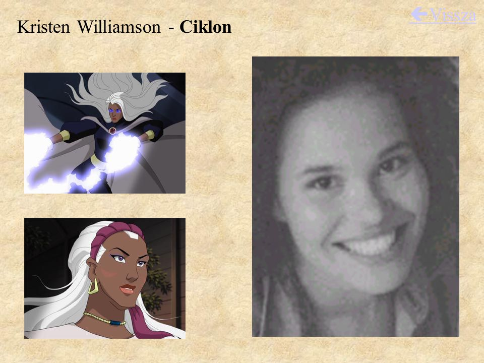 Kristen Williamson - Ciklon  Vissza