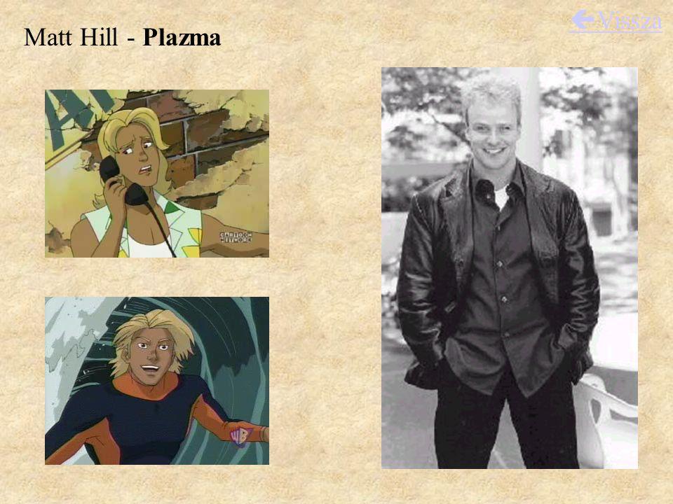 Matt Hill - Plazma  Vissza