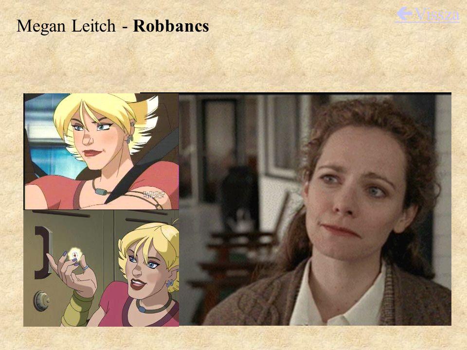 Megan Leitch - Robbancs  Vissza