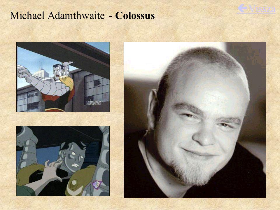 Michael Adamthwaite - Colossus  Vissza
