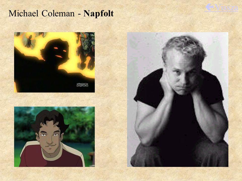 Michael Coleman - Napfolt  Vissza