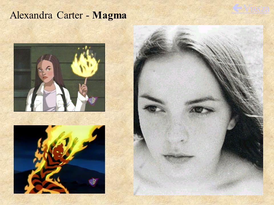 Alexandra Carter - Magma  Vissza