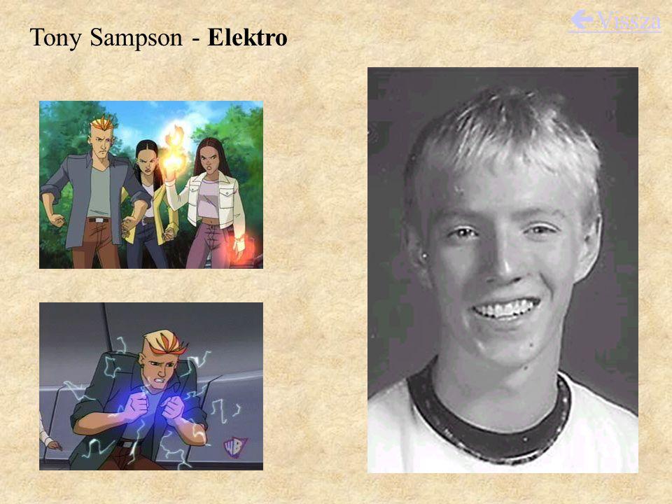 Tony Sampson - Elektro  Vissza