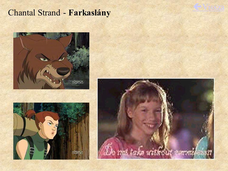 Chantal Strand - Farkaslány  Vissza