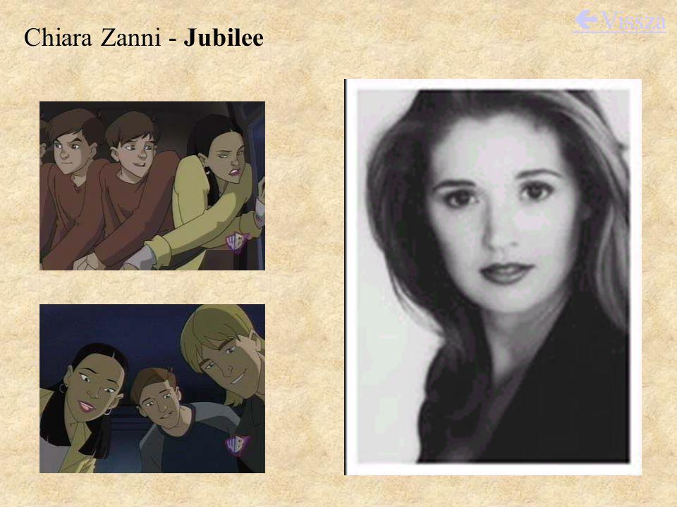 Chiara Zanni - Jubilee  Vissza