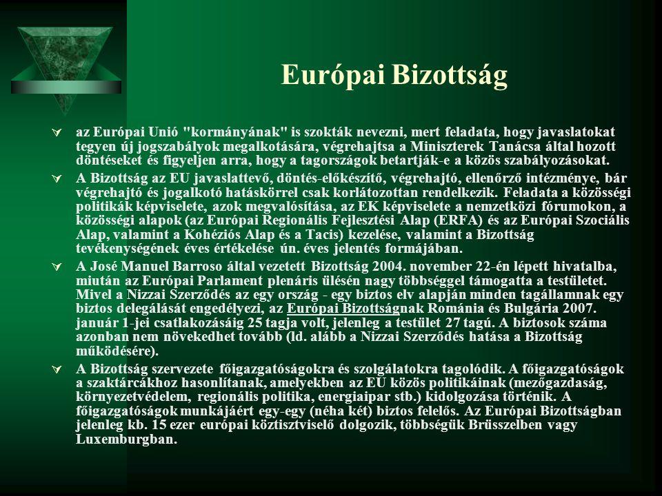 Európai Bizottság  az Európai Unió