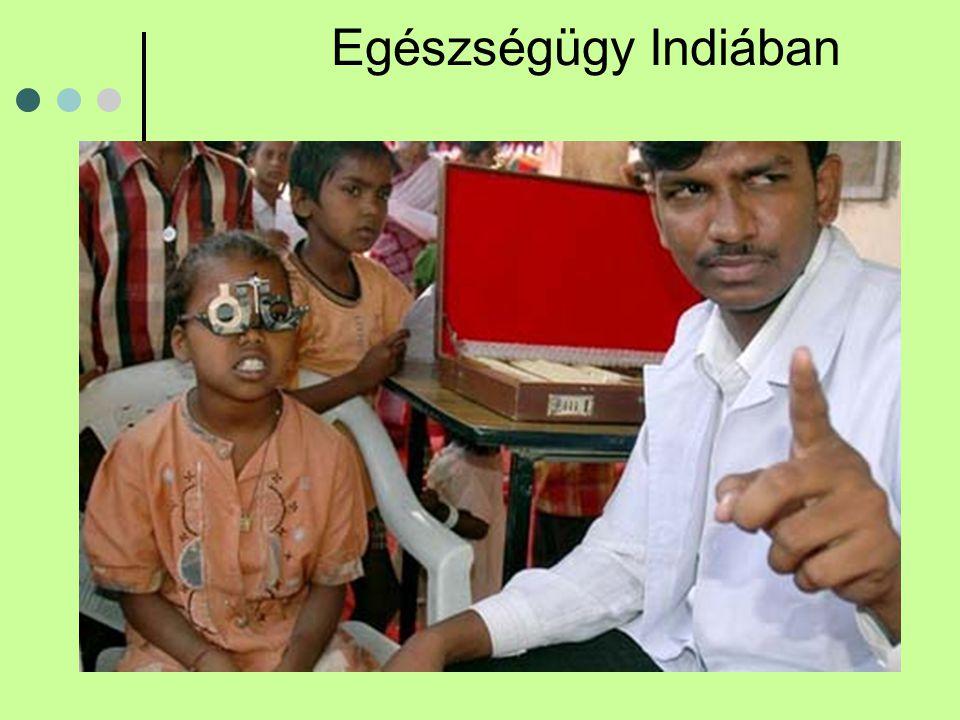 Egészségügy Indiában