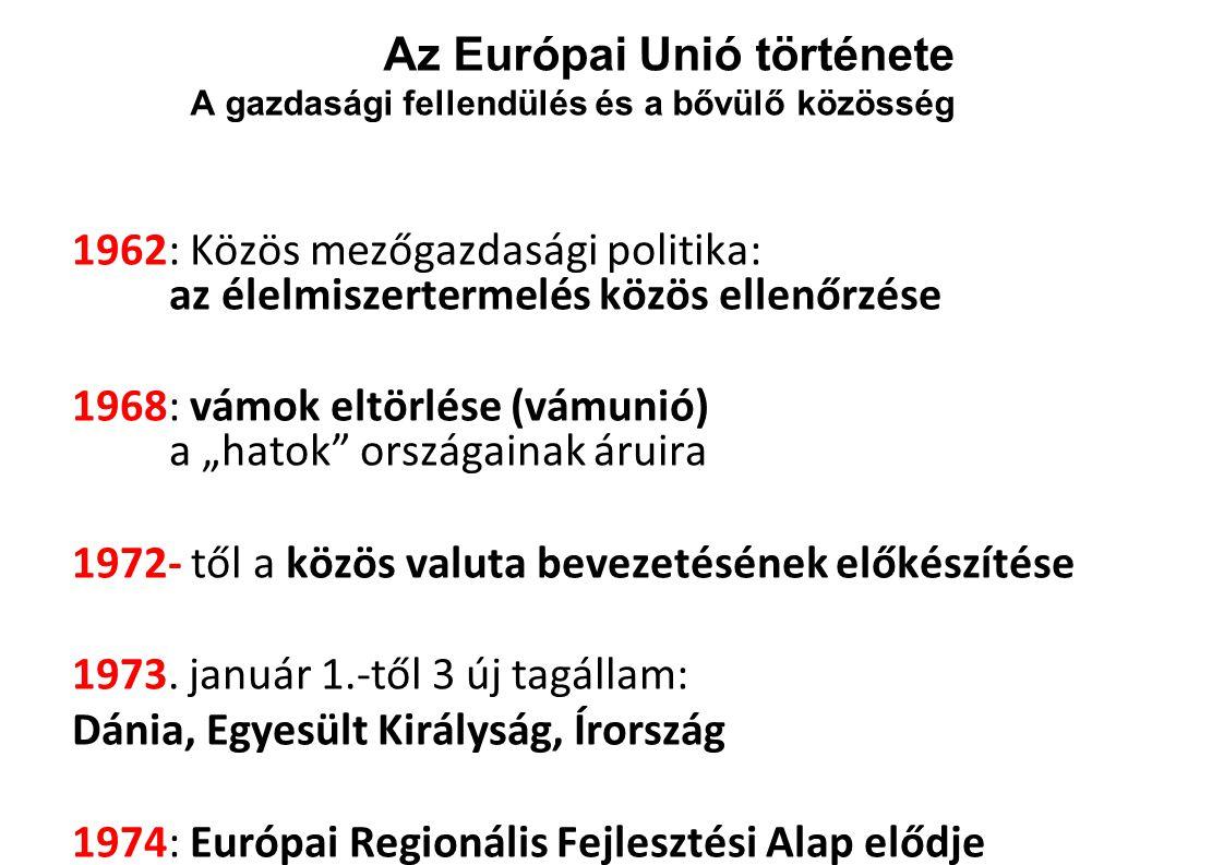 A NUTS rendszer NUTS I (számuk 2000-06 között 78) –Európai Közösségi Régiók szintje –Nagyságrendjük különböző, de általában a német szövetségi tartományok méretéhez hasonló –Kisebb országok esetében országos szint (Dánia, Írország, Luxemburg) NUTS II (számuk 2000-06 között 206) –A Közösségi regionális politika támogatási rendszerének alapja –Átlagos méretük a francia és az olasz régiókhoz hasonlítható