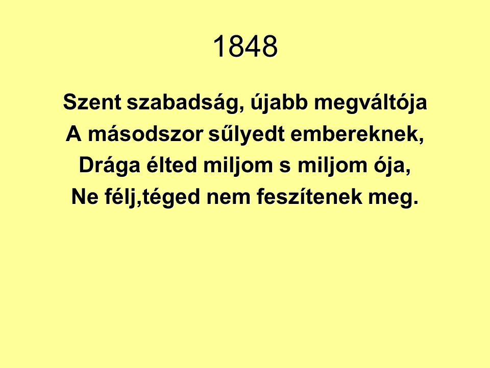 1848 1848 februárjában egymást követik a véres európai események: felkelések, lázadások.1848 februárjában egymást követik a véres európai események: f