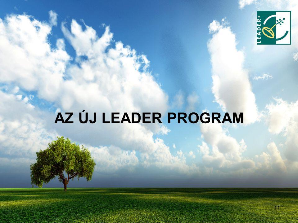 11 AZ ÚJ LEADER PROGRAM
