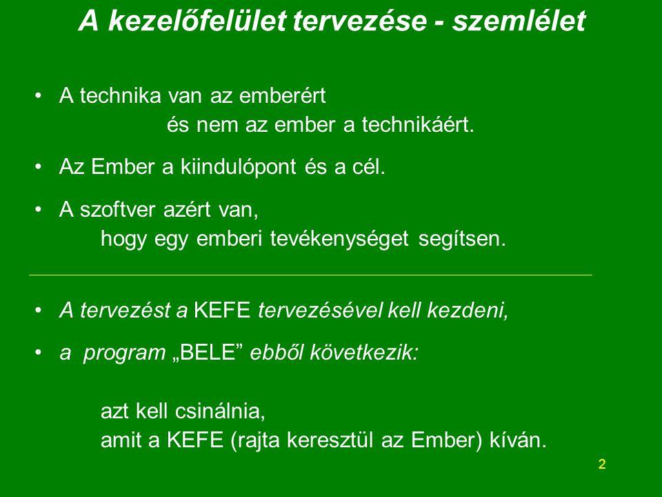"""13 ÁKEFE - példa Indulás a """"kályhától : """"K.1."""