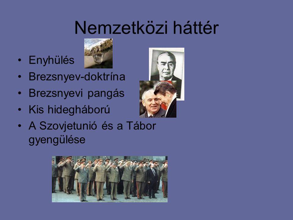 """Legitimáció A sztálinizmus (Rákosi-Gerő klikk) megtagadása Kiegyezés a társadalommal - Amnesztia - """"Aki nincs ellenünk, az velünk van"""" - Életszínvonal"""