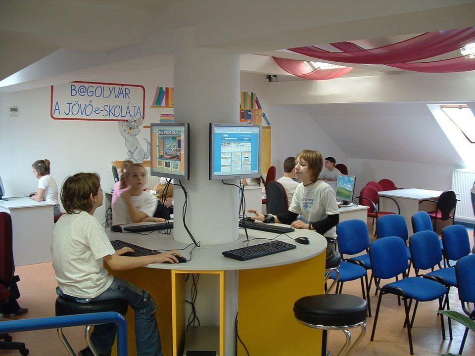 """"""" B@GOLYVÁR – A JÖVŐ e-SKOLÁJA"""" 2004-2006. Phare IT pályázat – 3 nyertes projekt """" B@GOLYVÁR – A JÖVŐ e-SKOLÁJA"""" PROGRAM – tetőtéri informatika, 21. s"""