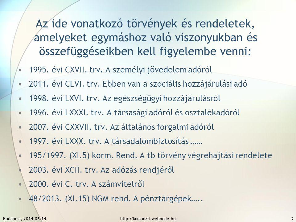 Az ide vonatkozó törvények és rendeletek, amelyeket egymáshoz való viszonyukban és összefüggéseikben kell figyelembe venni: 1995. évi CXVII. trv. A sz
