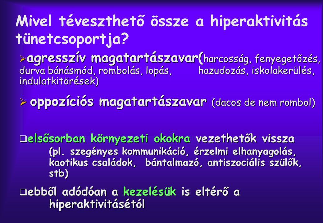 Hogyan lehet segíteni a hiperaktív gyereknek .