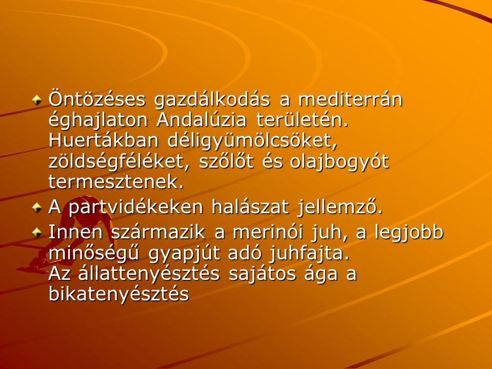 Ipar: Dél-Európa ásványkincsekben leggazdagabb országa.