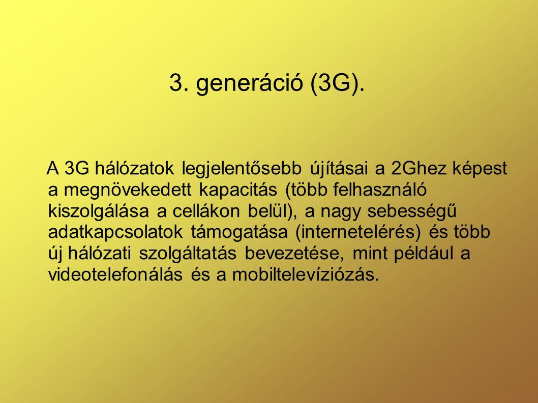 3.generáció (3G).