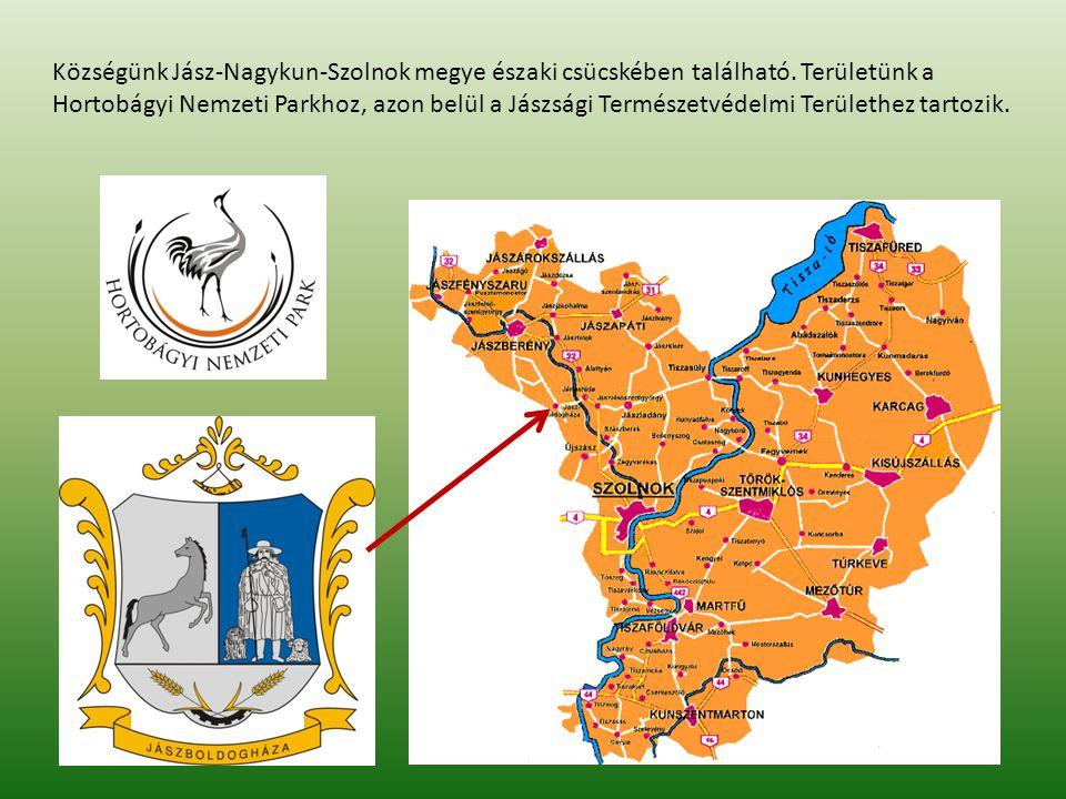 Községünk Jász-Nagykun-Szolnok megye északi csücskében található.