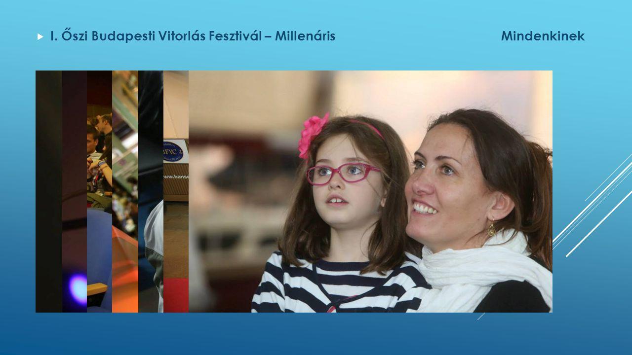  I. Őszi Budapesti Vitorlás Fesztivál – MillenárisMindenkinek