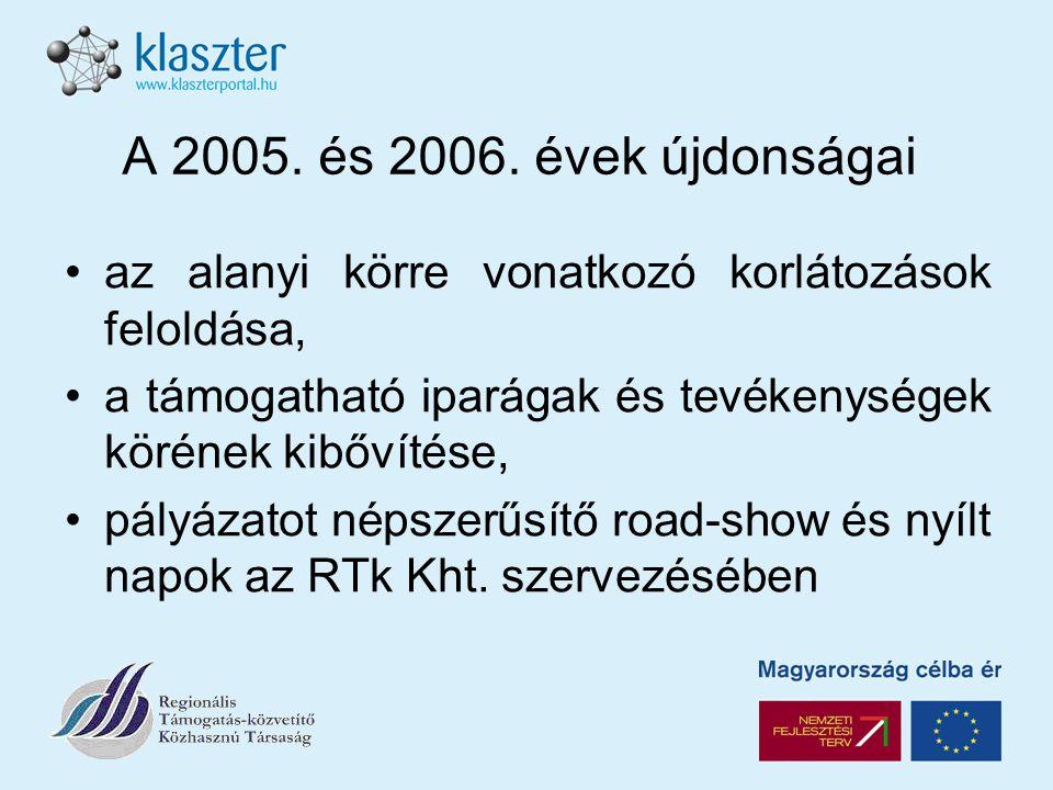 A 2005. és 2006.