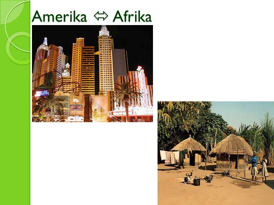Amerika  Afrika