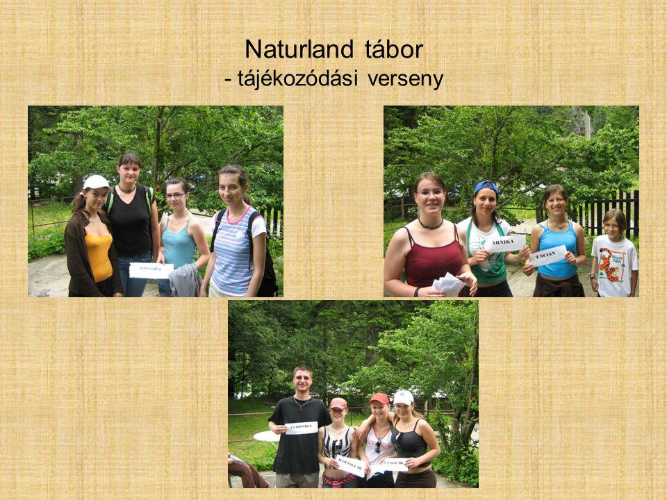 Naturland tábor - tájékozódási verseny