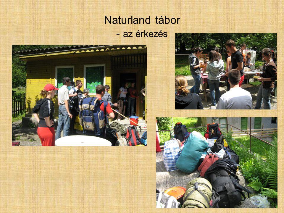 Naturland tábor - az érkezés