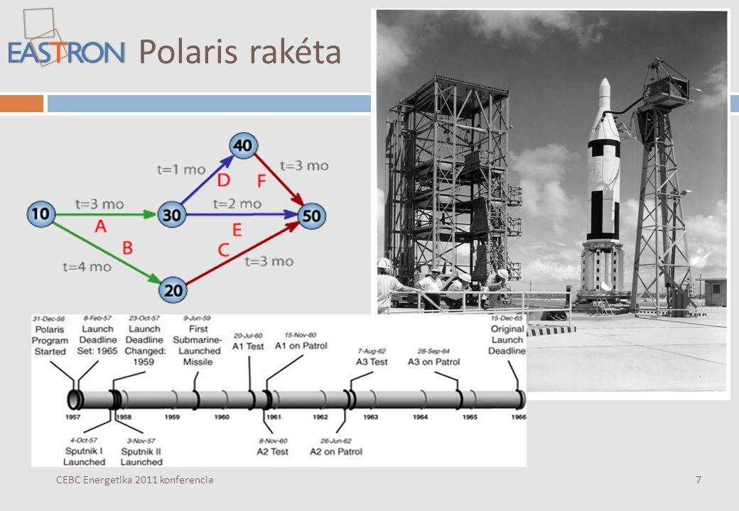 Polaris rakéta CEBC Energetika 2011 konferencia7