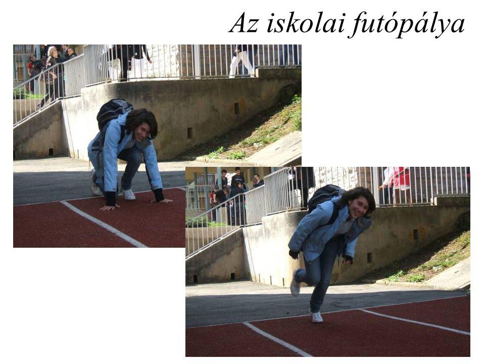 Az iskolai futópálya